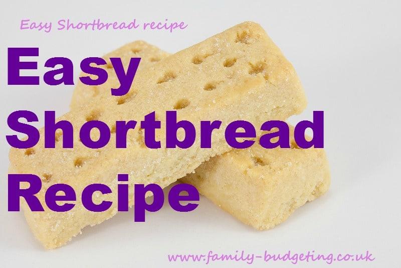 very easy shortbread recipe