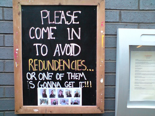redundancies