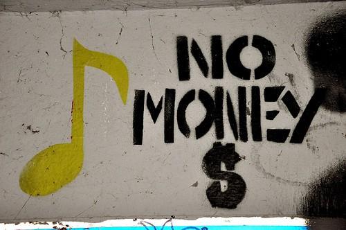 money qupte, the end of money, no more money, penniless