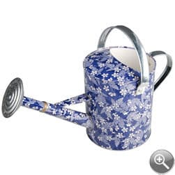 treather.com, watering can gift, flowery watering can
