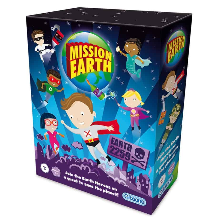 review: mission earth, eco-friendly game