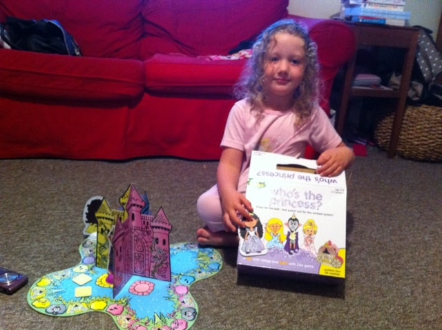 who's the princess, princess board game