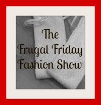Frugal fashion, thrifty fashion