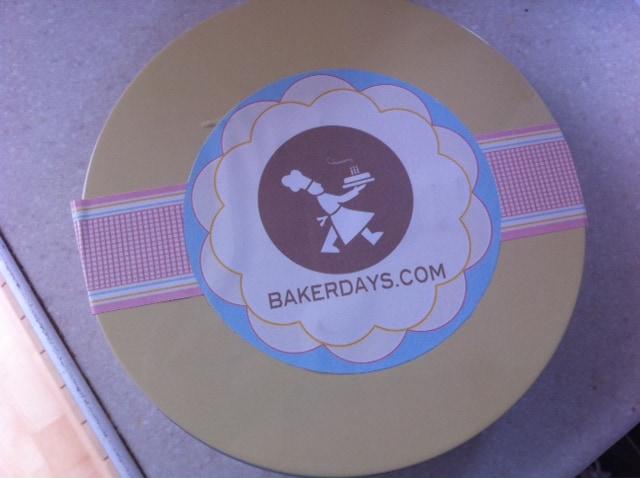 letter box cakes, baker days, Personalised Letter Box cakes