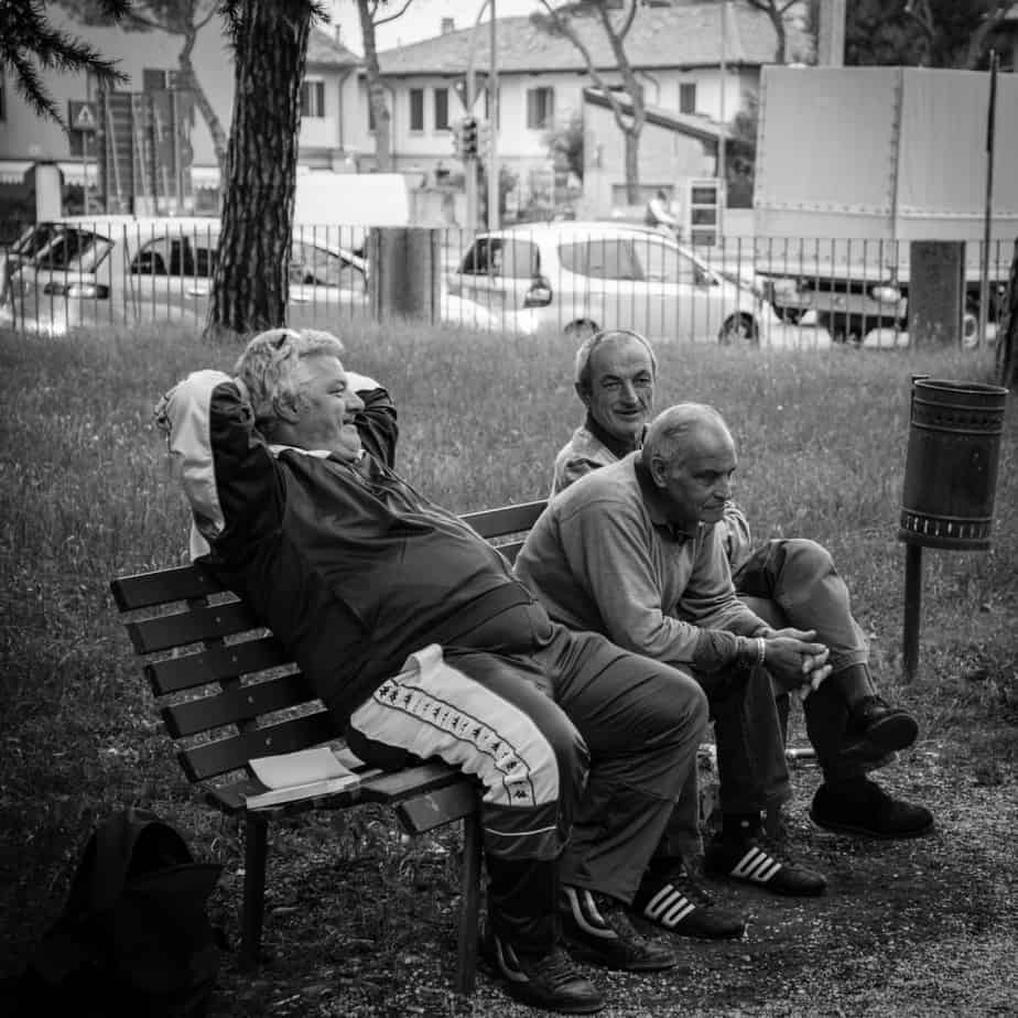 old men, old men in park, oaps