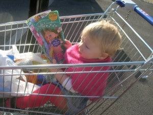 family budgeting, baby in trolley