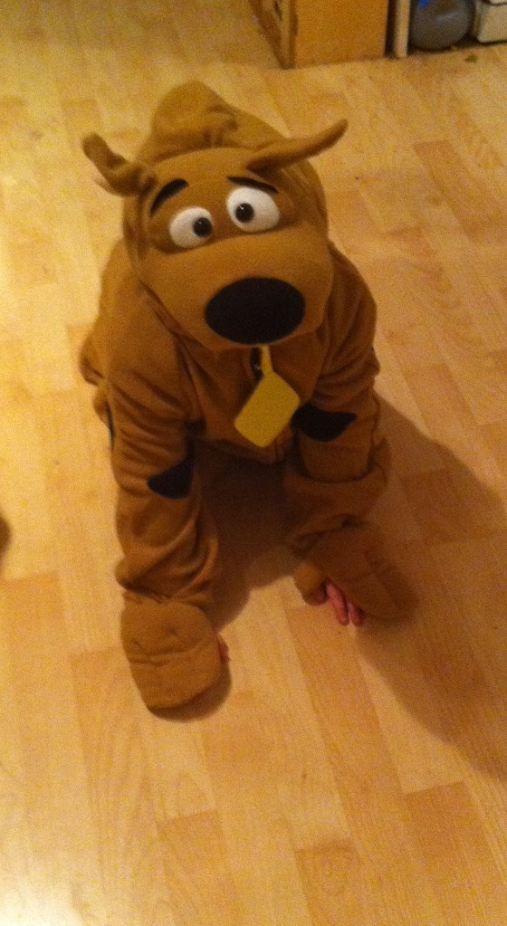 scooby doo dressing  up