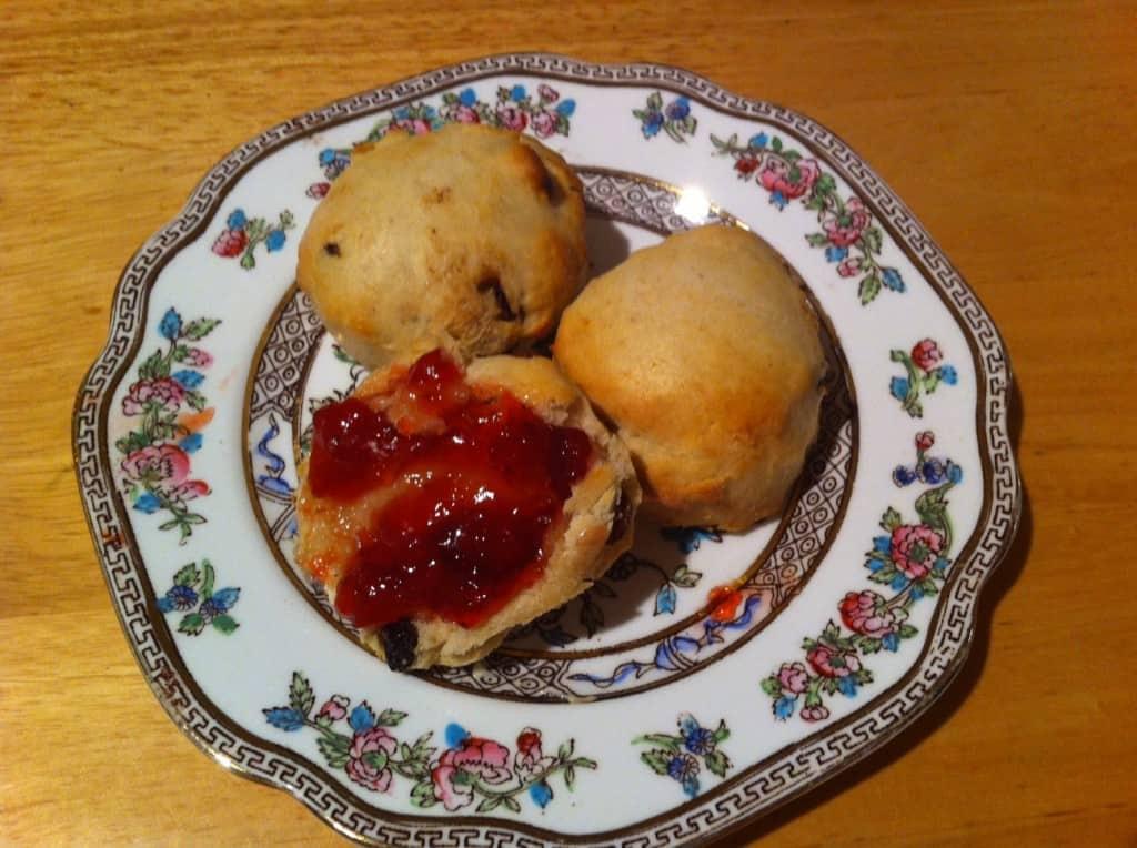 VEGAN scones recipe
