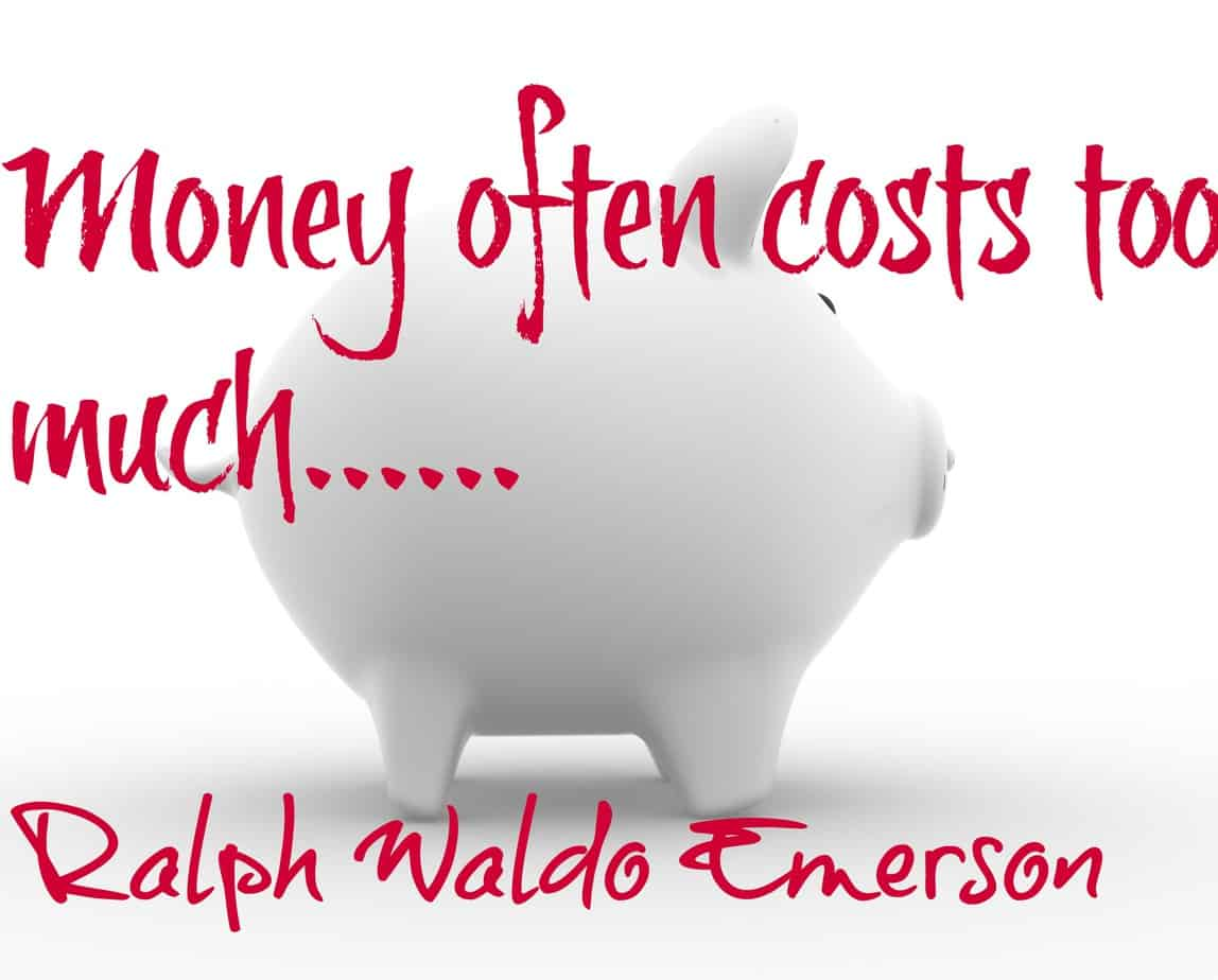 Money Helps Quotes White Piggy Bank Quote