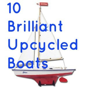 ways to upcycle boats