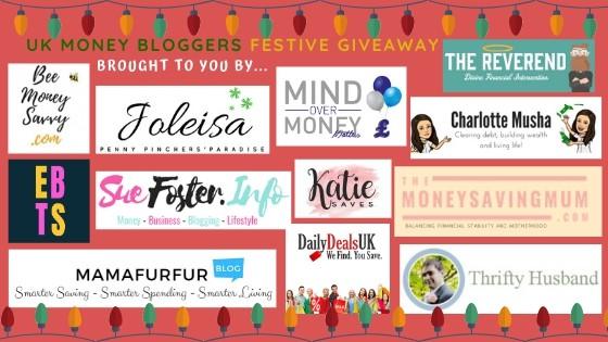 UK money bloggers Christmas