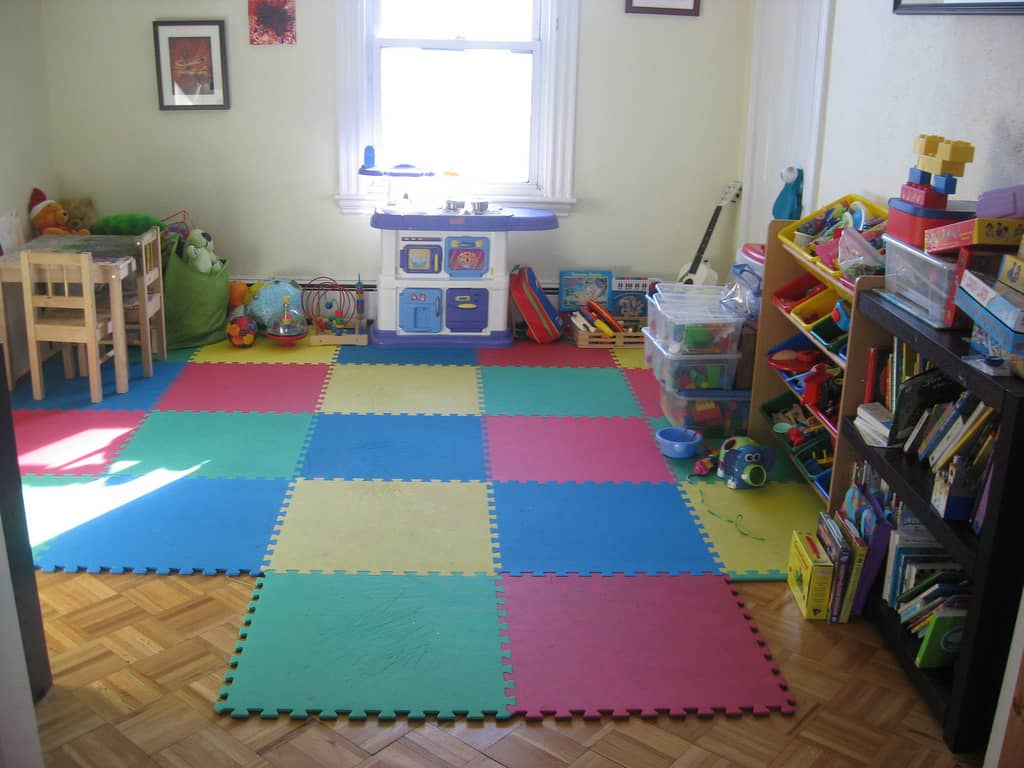 perfect playroom on a budget