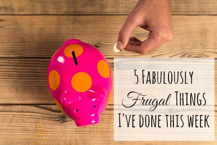 5 Frugal Birthday Ideas #5frugalthings
