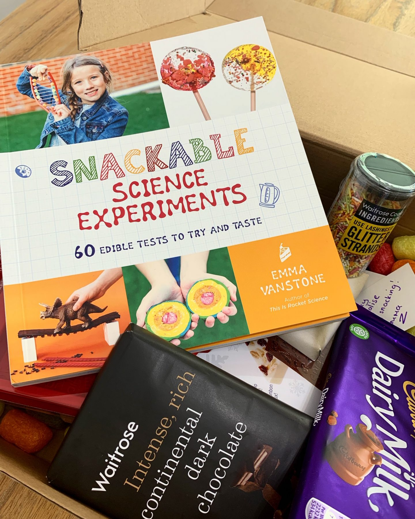 Snackable Science Experiments Review