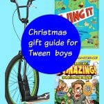 A Christmas gift guide for tween boys