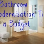Bathroom modernisation tips on a budget