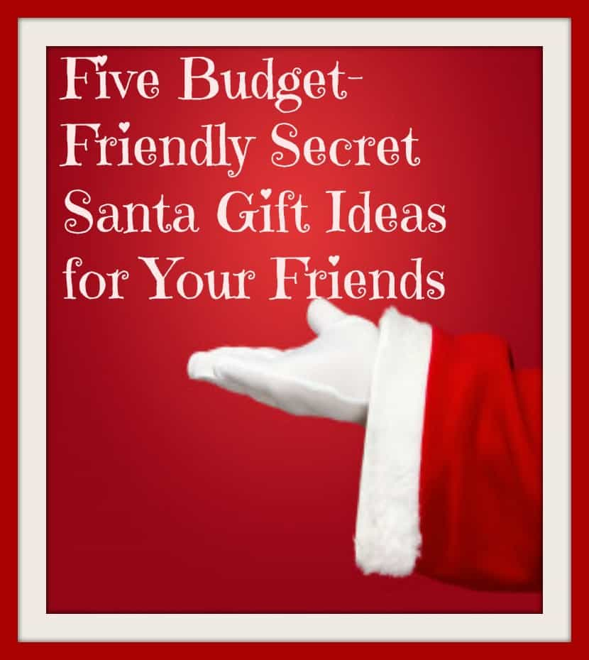 Budget friendly secret santa gift ideas
