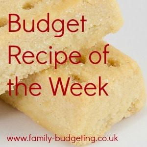 Budget recipe badge