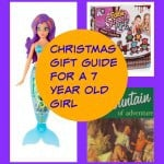 Christmas gift guide for a 7 year old girl