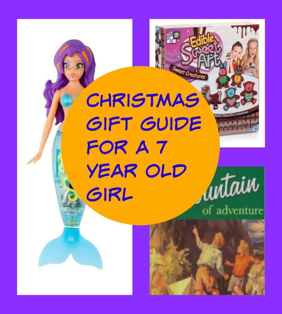 7 year old Girl Christmas gift guide
