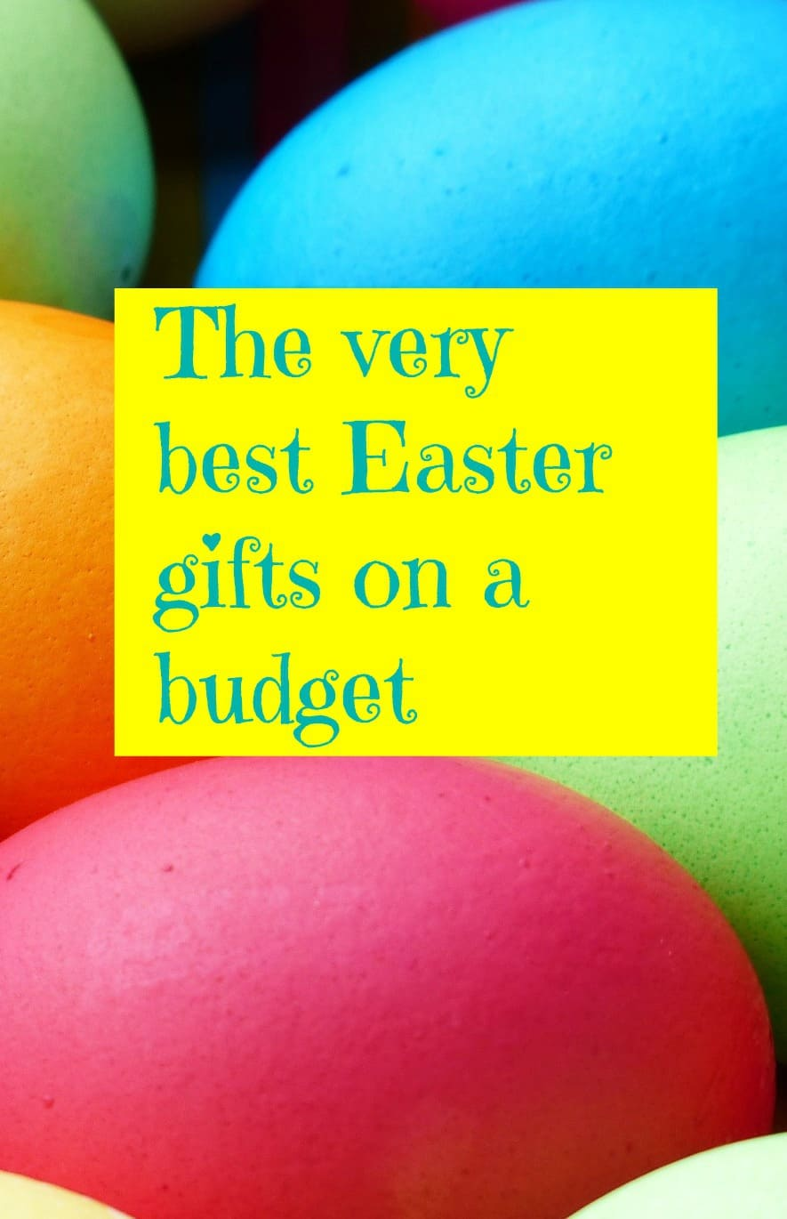 Easter gifts on a budget