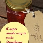 Easy strawbwerry jam recipe