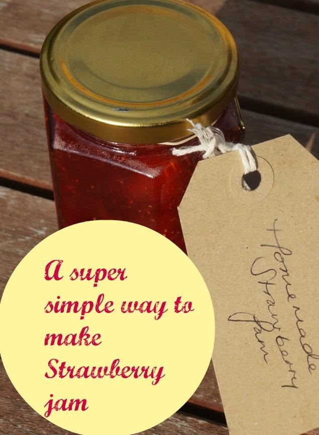 Easy strawbwerry jam recipe