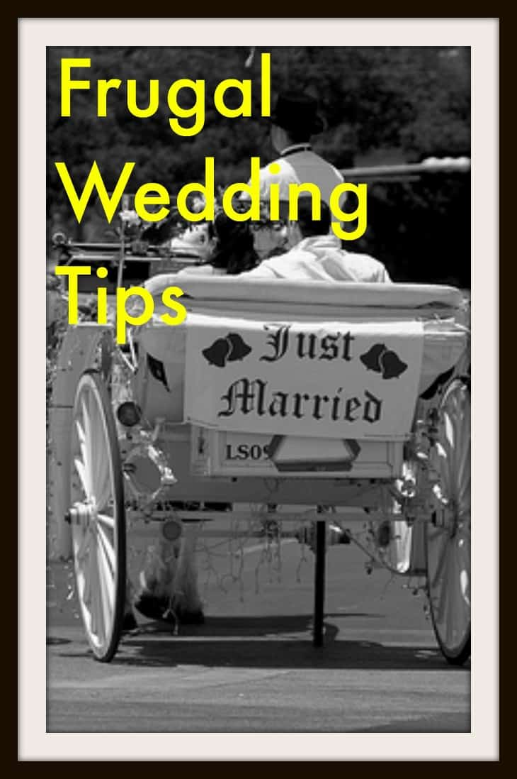 Frugal Wedding Tips