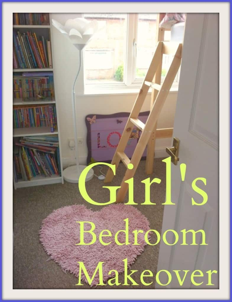 Girls bedroom makeover