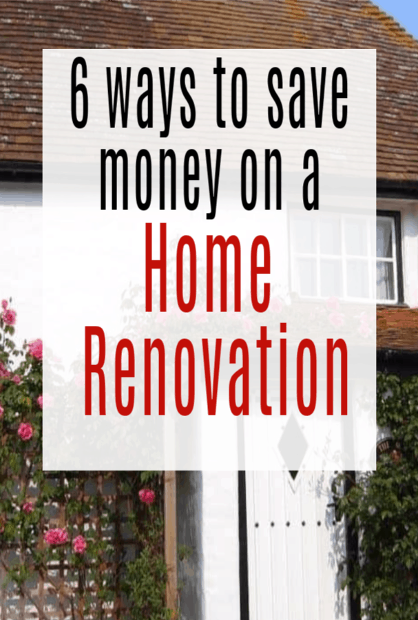 Ways to Save Money on a Home Renovation