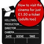 How to visit the cinema for just £1.50