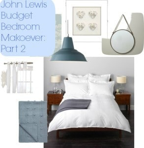 John lewsi budget bedroom makeover part 2