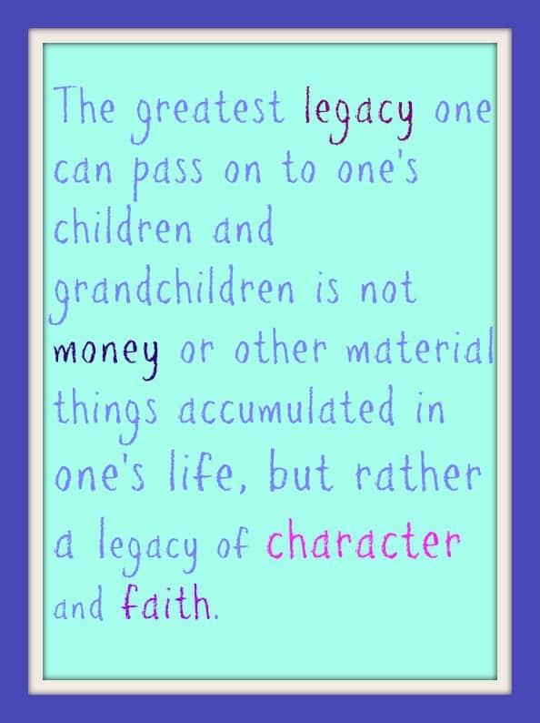 A legacy