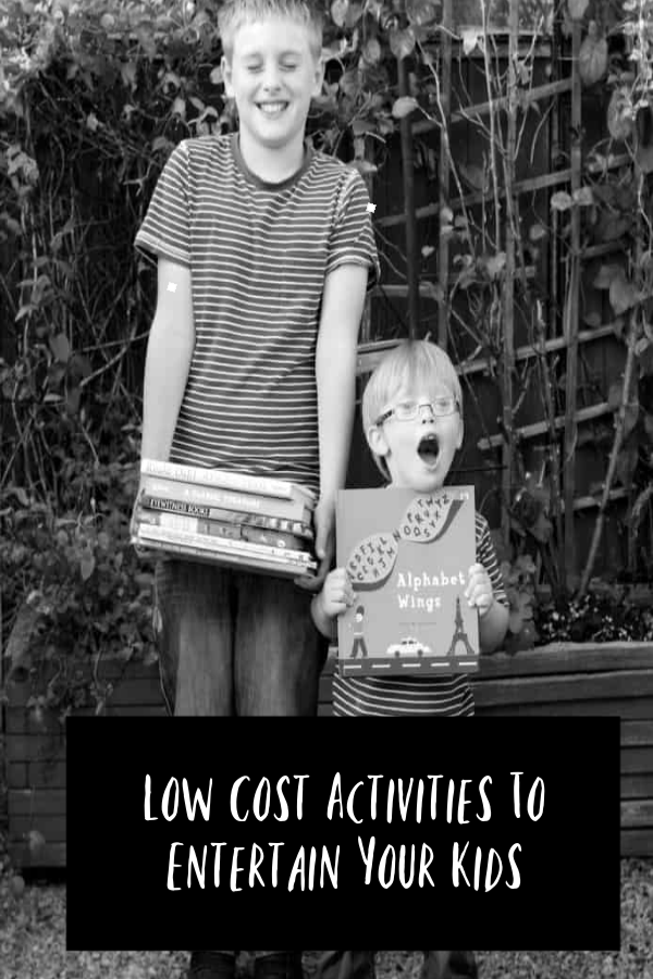 Low Cost Activities To Entertain Your Kids