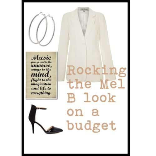 Mel B look on a budget