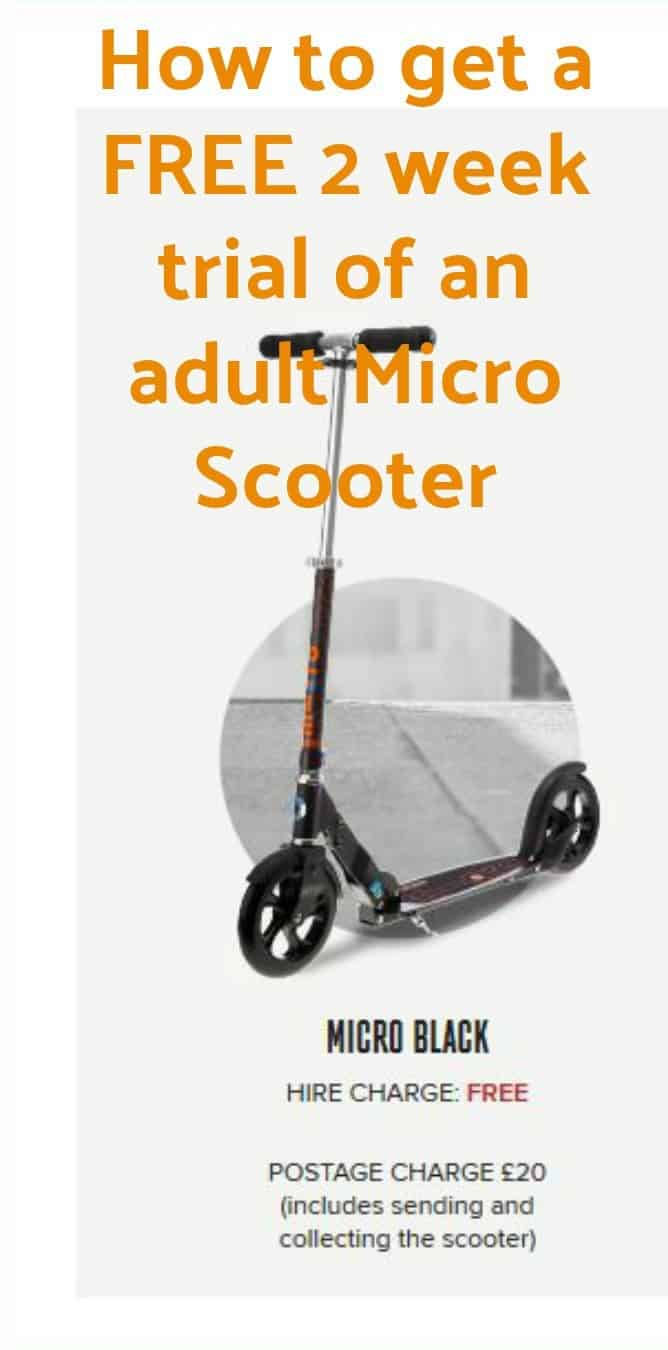 Adult Micro Scooters you can try before you buy