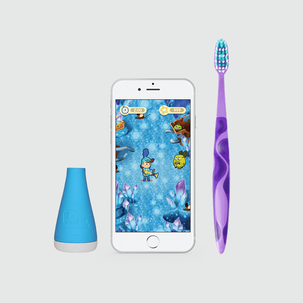 Playbrush – the most fun way EVER to encourage a child to brush their teeth well
