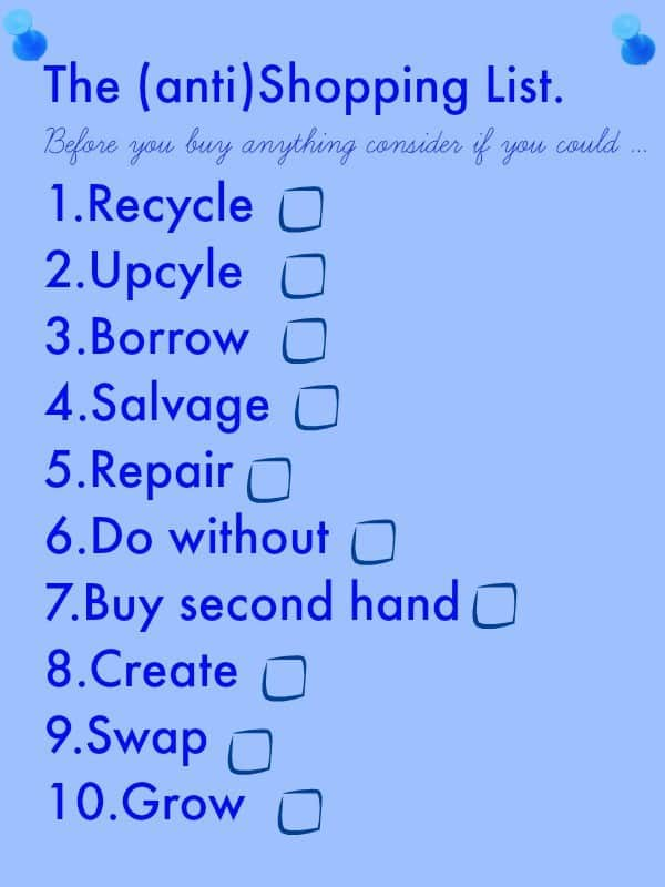 simple ways to be thrifty, best shopping list, shopping tricks