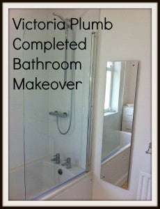 Bathroom Makeovers Uk our completed victoria plumb bathroom makeover - family budgeting