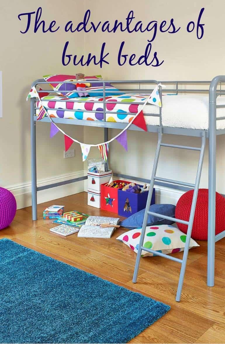 advantages of bunk beds