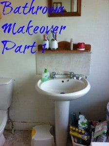 bathroom makoever part 1