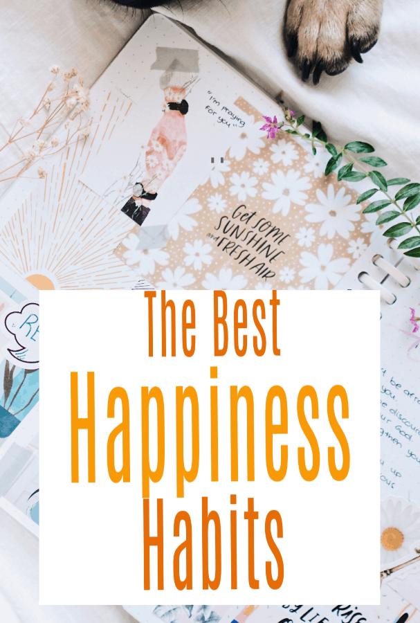 happy happiness habits