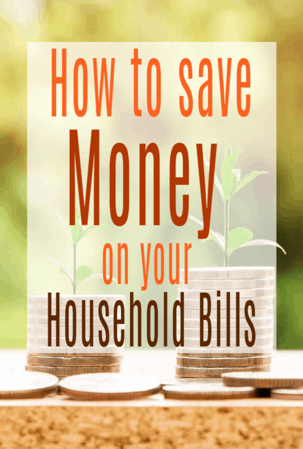 Saving money on your household bills