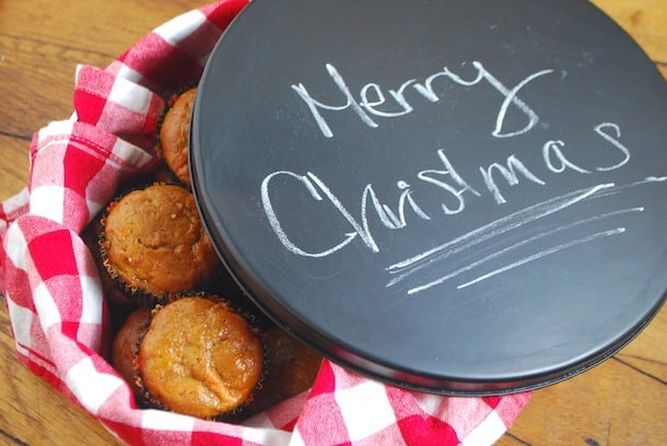 chalkboard tin, How to upcycle biscuit tins