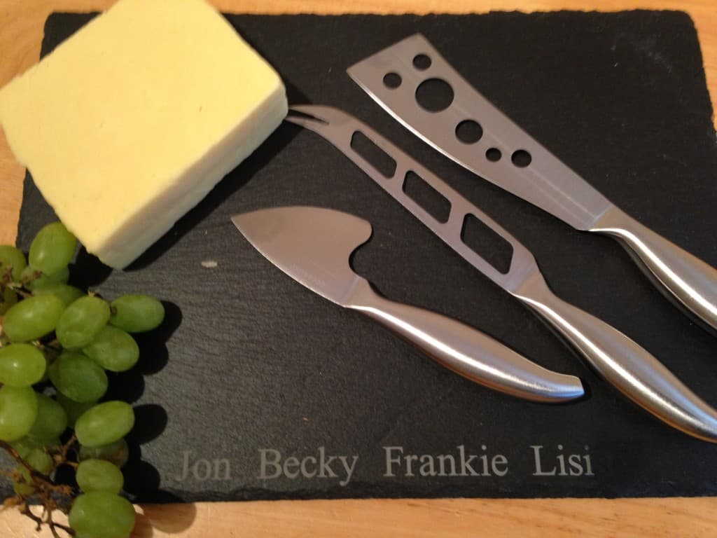 cheese board, personalised Father's Day