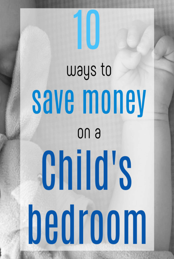 save money on a child's bedroom