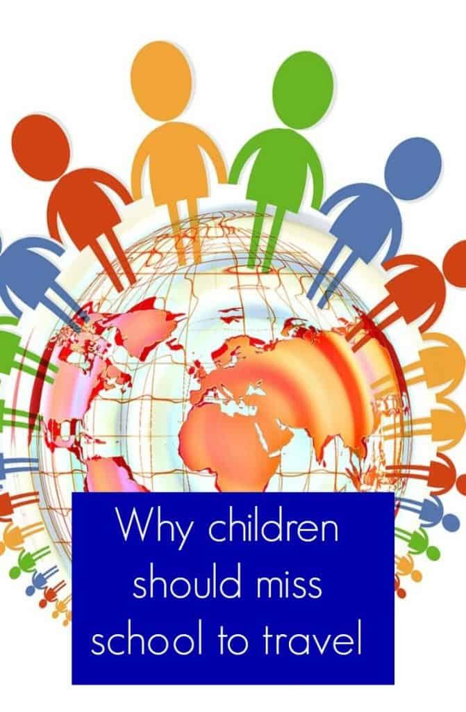 children miss school to travel