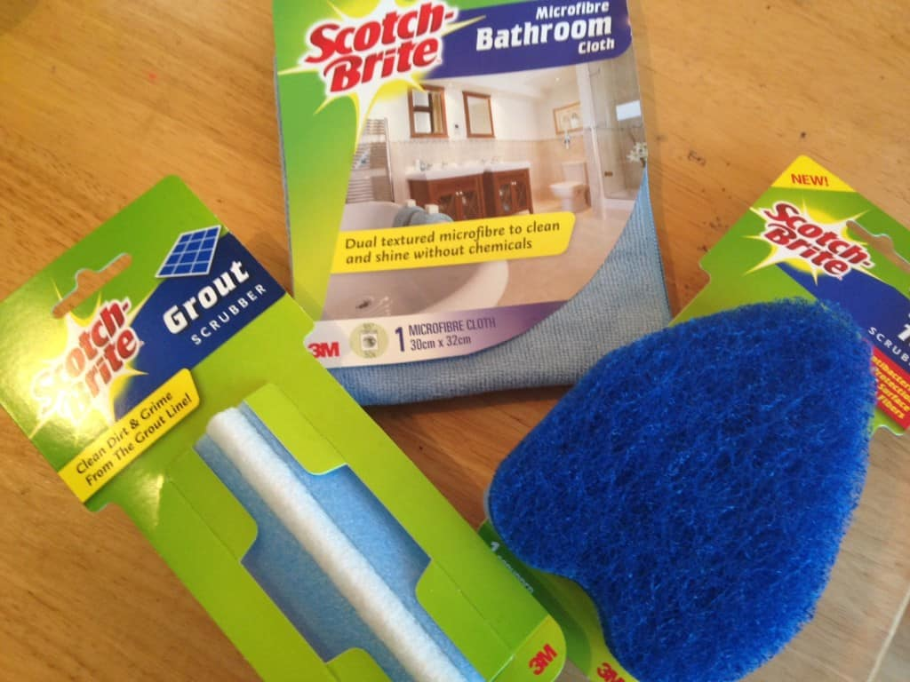 Review and exclusive discount code for Scotchgard and Scotch Brite products