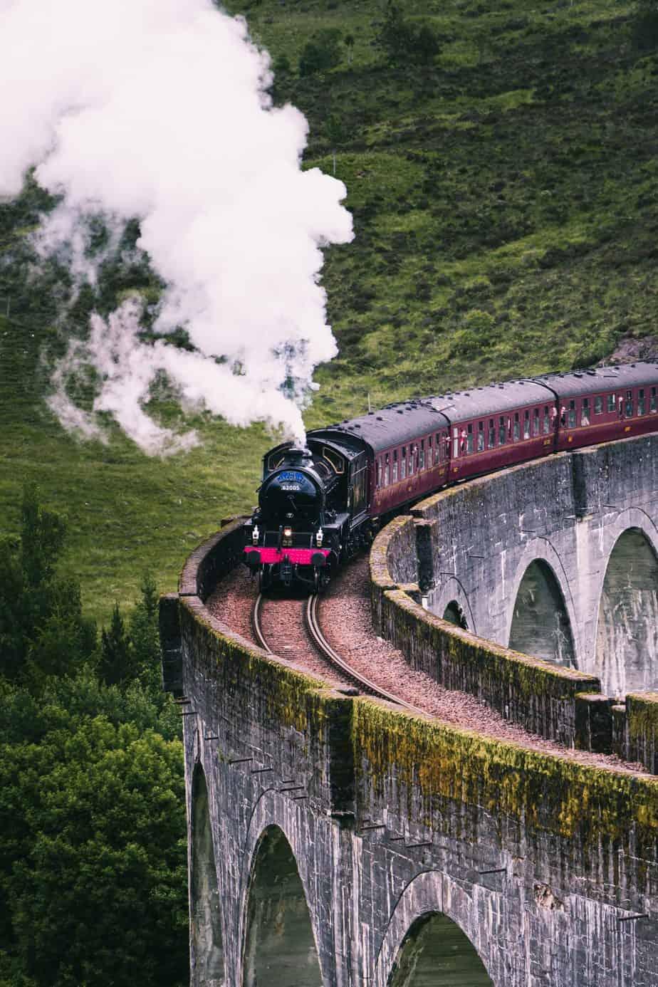 Frugal train travel