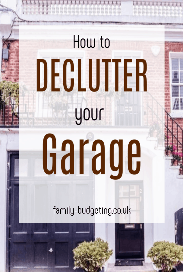 How to clear your cluttered garage, top tips on how to declutter your garage efficient to save space and make some money #declutter #clutterfree #garage #decluttergarage  #decluttering #decluueringgarage